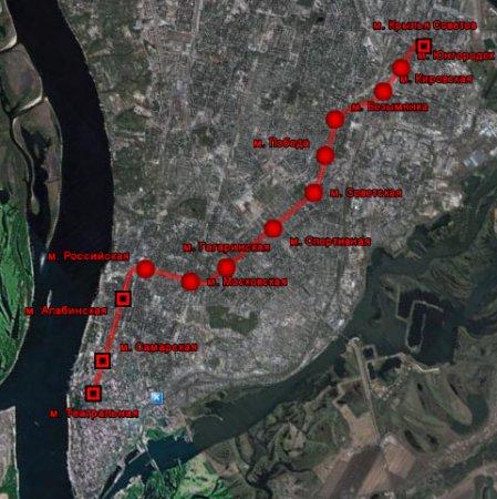 Самарский метрополитен