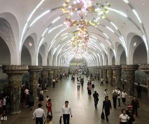 Закрытый Пхеньянский метрополитен