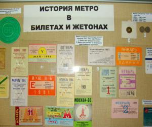 История метрополитена Москвы