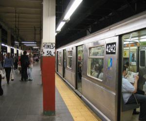 О нью-йоркском метро